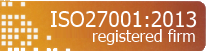 ISO27001 Registered Firm